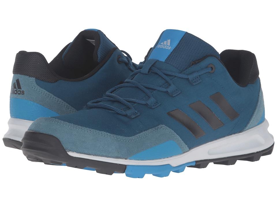 adidas Outdoor - Tivid Mid Low (Tech Steel/Black/Shock Blue) Men's Running Shoes