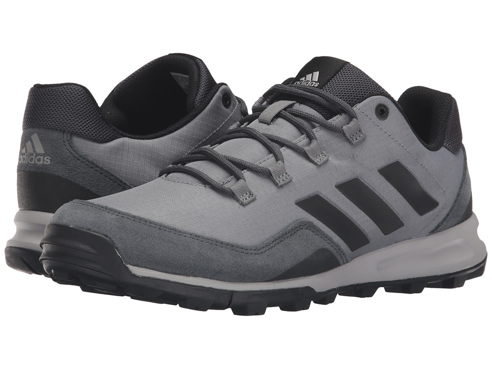 adidas Outdoor - Tivid Mid Low (Vista Grey/Black/Dark Grey) Men's Running Shoes