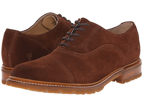 Frye - James Bal Lug Oxford (Brown) Men