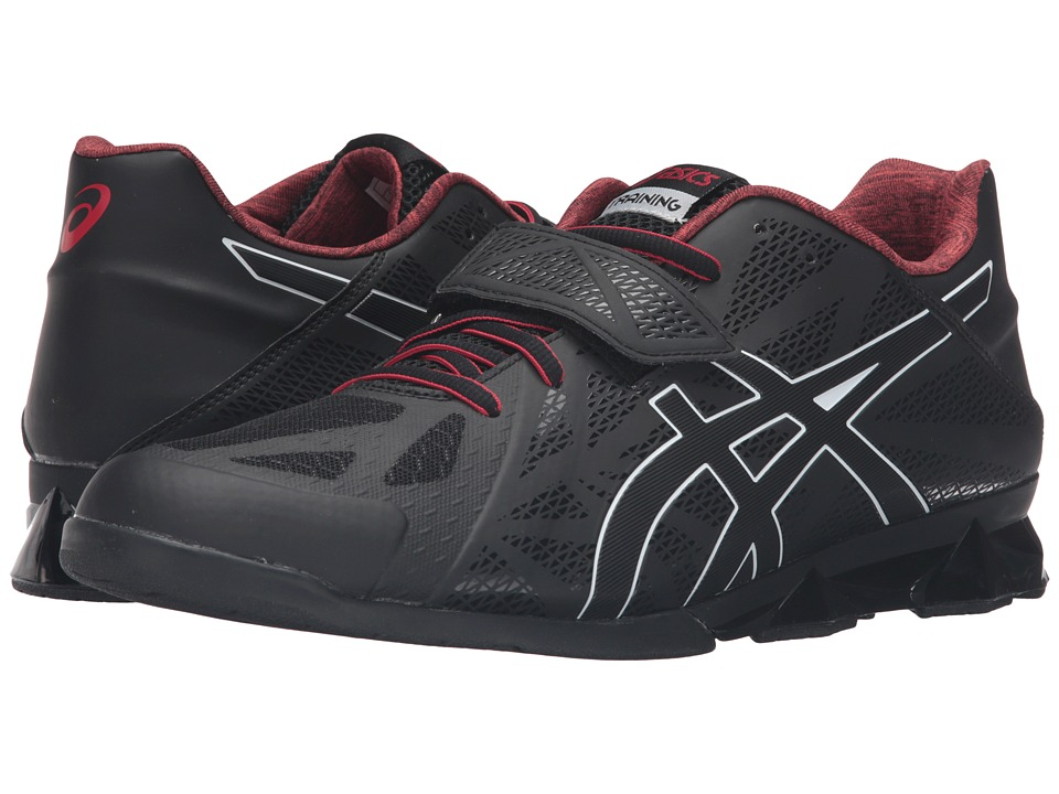 ASICS - Lift Master Lite (Black/Onyx/True Red) Men's Shoes