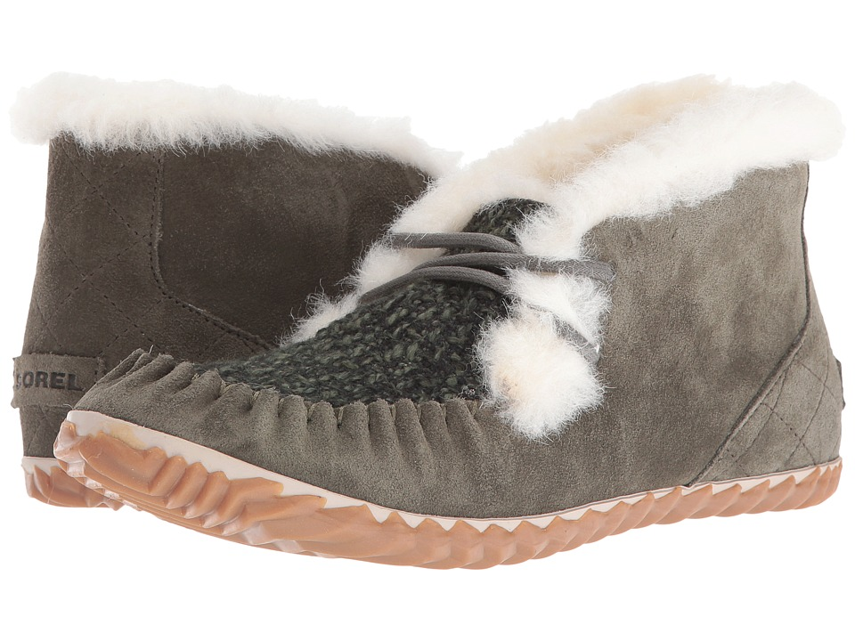 SOREL - Out 'N About Moc (Peatmoss) Women's Moccasin Shoes