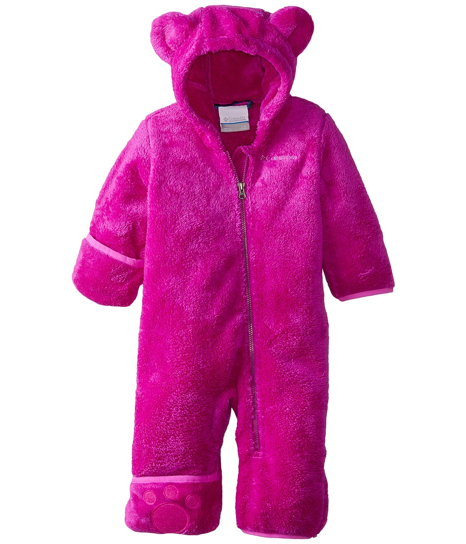 Columbia Kids - Foxy Baby II Bunting (Infant) (Bright Plum/Foxglove) Kid's Jumpsuit & Rompers One Piece