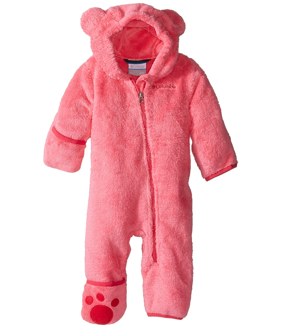 Columbia Kids - Foxy Baby II Bunting (Infant) (Camellia Rose/Punch Pink) Kid's Jumpsuit & Rompers One Piece