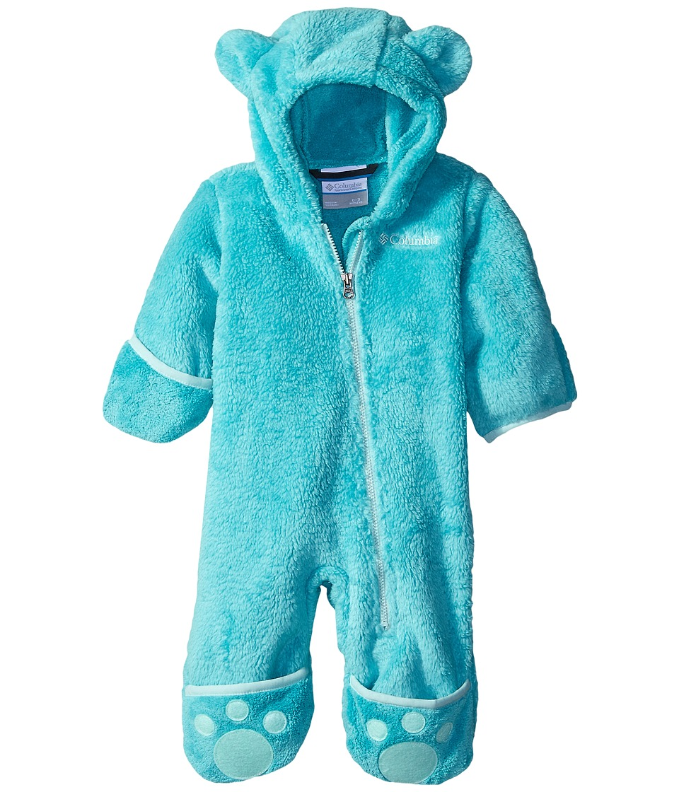 Columbia Kids - Foxy Baby II Bunting (Infant) (Miami/Spray) Kid's Jumpsuit & Rompers One Piece