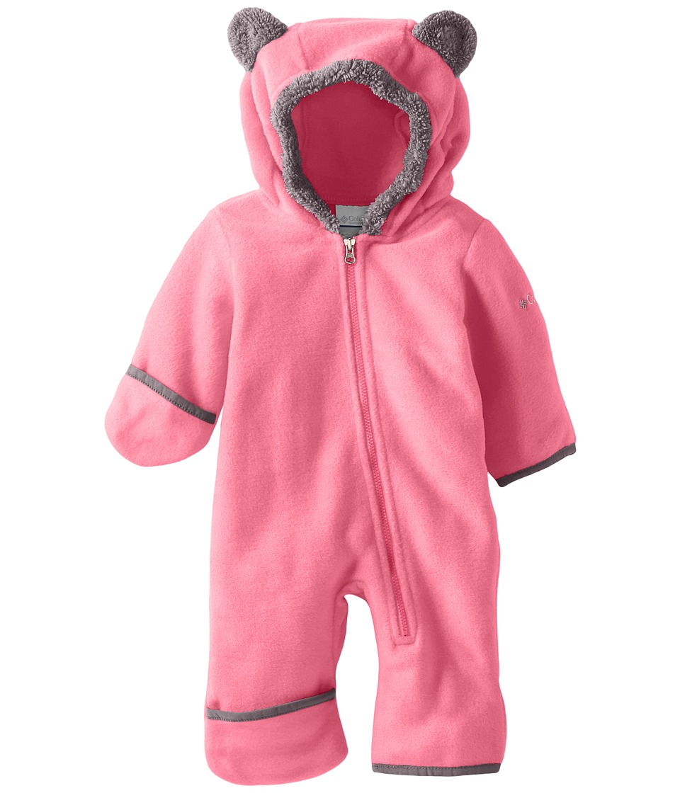 Columbia Kids - Tiny Bear II Bunting (Infant) (Camellia Rose) Kid's Jumpsuit & Rompers One Piece