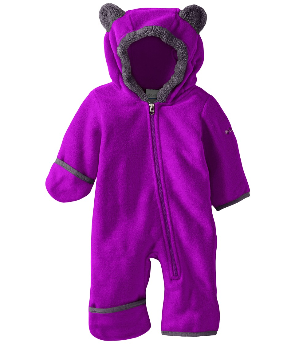 Columbia Kids - Tiny Bear II Bunting (Infant) (Bright Plum) Kid's Jumpsuit & Rompers One Piece