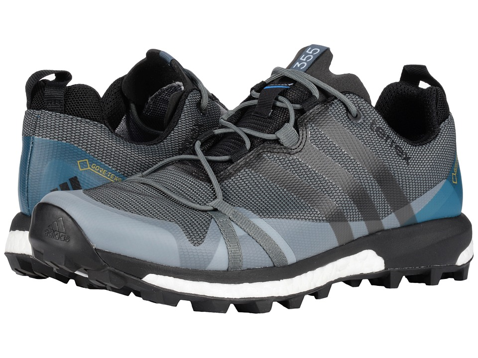 adidas Outdoor - Terrex Agravic GTX (Vista Grey/Black/Shock Blue) Men's Shoes
