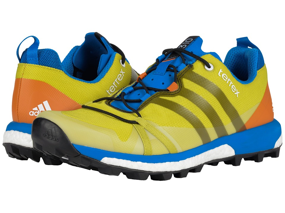 adidas Outdoor - Terrex Agravic (Bright Yellow/Black/Unity Lime) Men's Shoes
