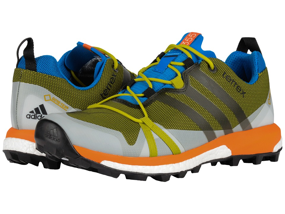 adidas Outdoor - Terrex Agravic GTX (Unity Lime/Black/Unity Orange) Men's Shoes