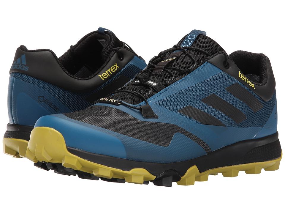 adidas Outdoor - Terrex Trailmaker GTX (Tech Steel/Black/Unity Lime) Men's Running Shoes