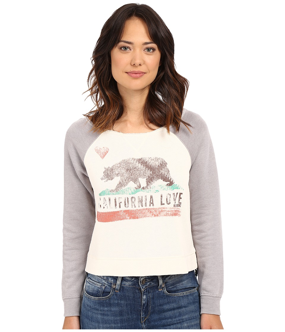 Billabong - All Over Pullover (Dark Athletic Grey) Women's Sweatshirt