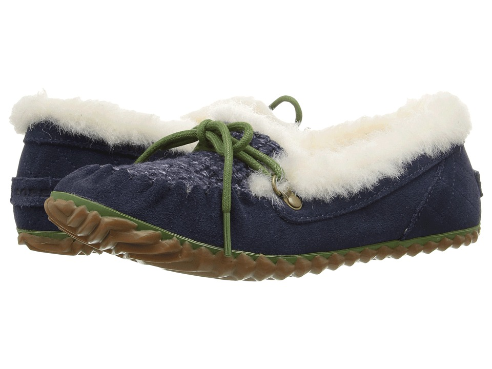 SOREL - Out 'N About Slipper (Collegiate Navy) Women's Slippers