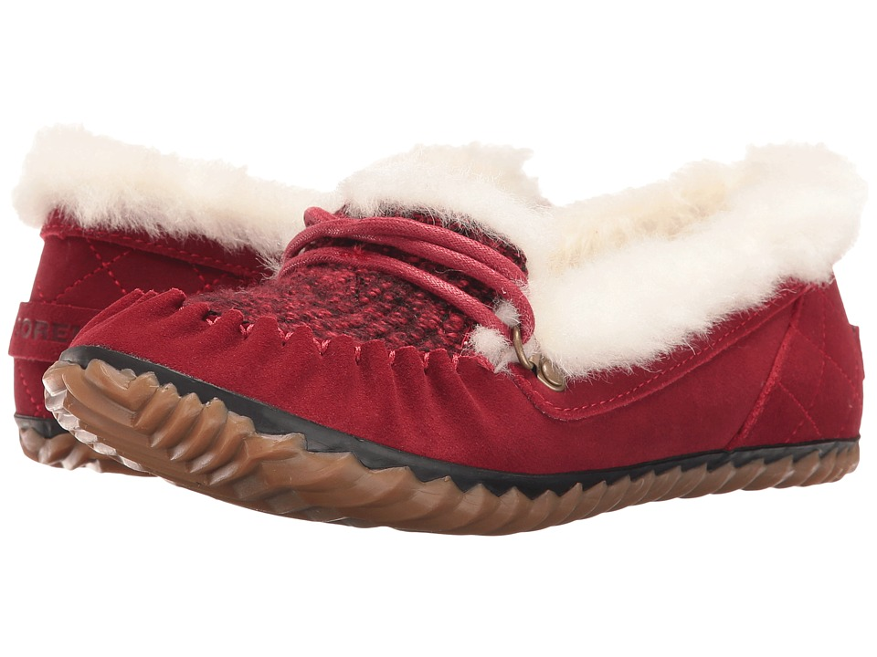 SOREL - Out 'N About Slipper (Red Dahlia) Women's Slippers