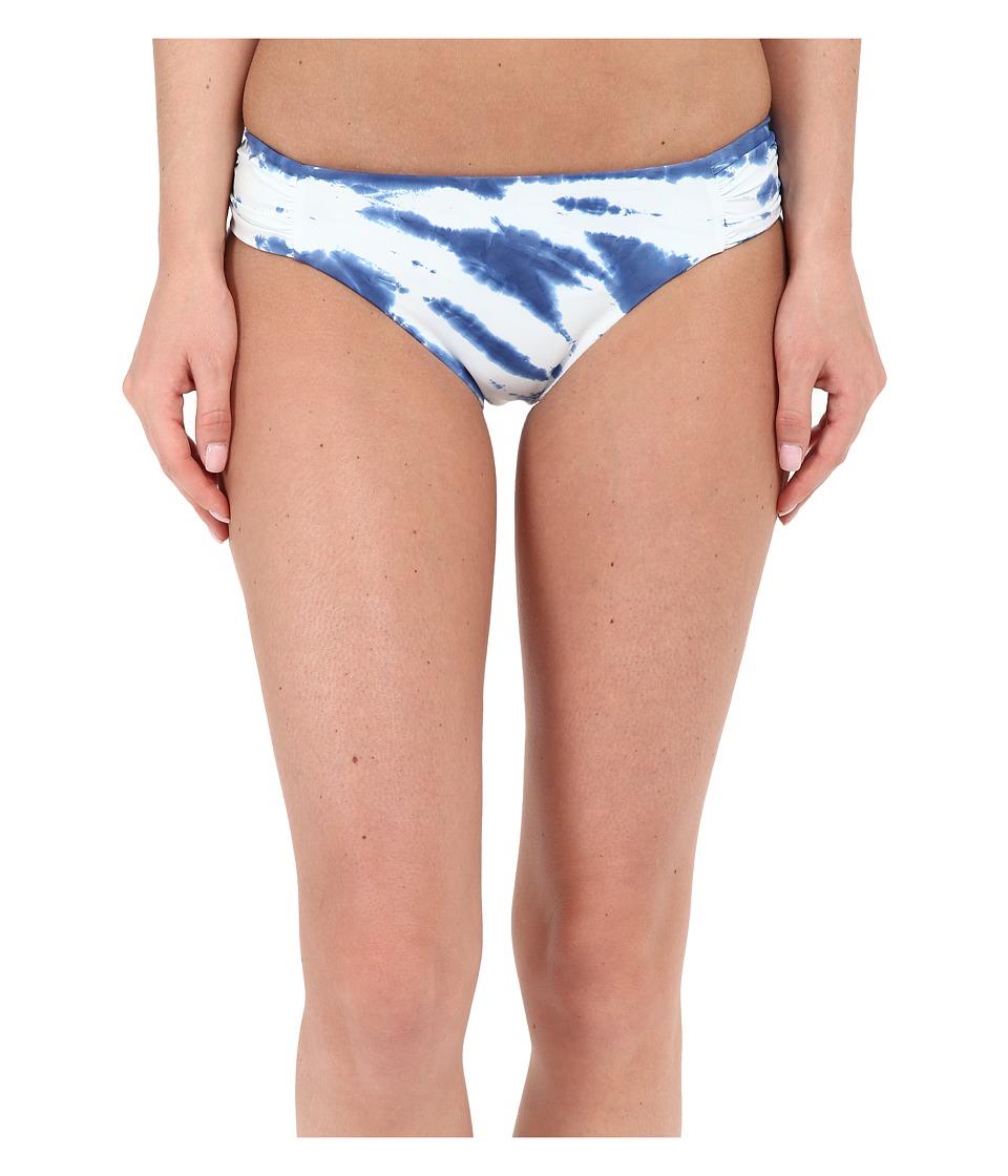 Lucky Brand - Fireworks Tab Side Hipster Bottoms (Vintage Blue) Women's Swimwear