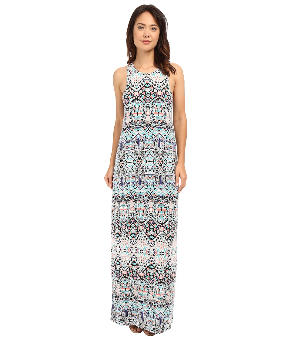 Tart Marisole Maxi Dress (Ink Tiles) Women