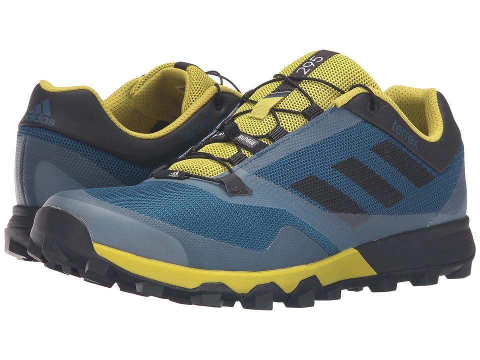 adidas Outdoor - Terrex Trailmaker (Tech Steel/Black/Unity Lime) Men's Running Shoes