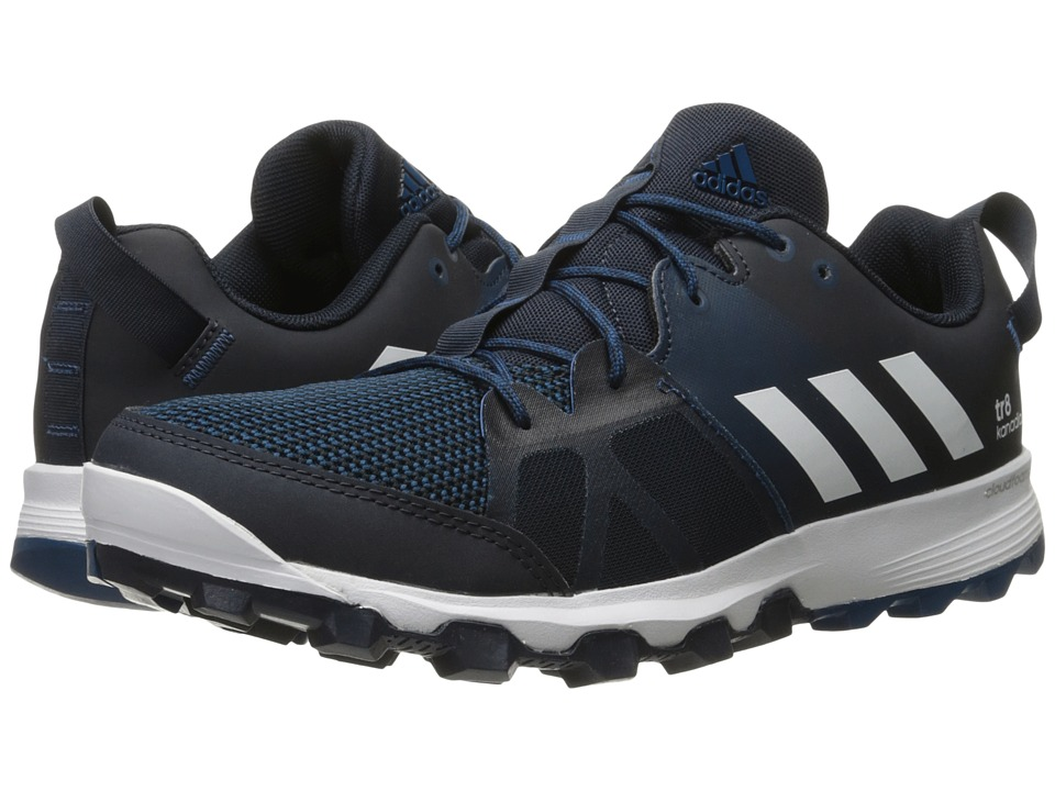 adidas Outdoor - Kanadia 8 TR (Night Navy/White/Tech Steel) Men's Running Shoes