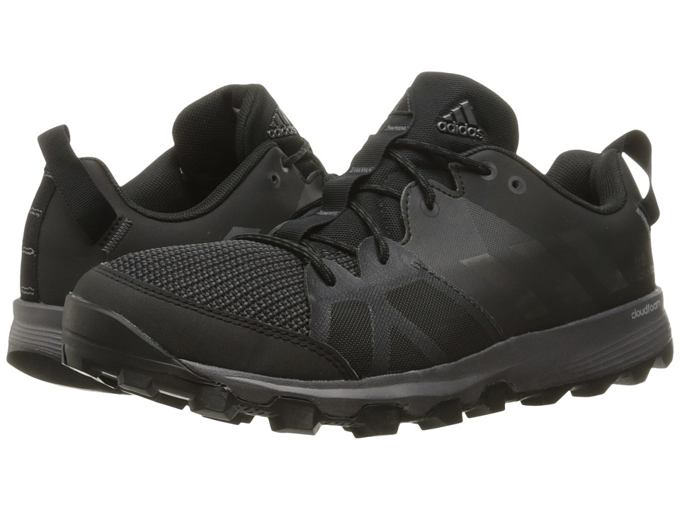 adidas Outdoor - Kanadia 8 TR (Black/Iron Metallic/Utility Black) Men's Running Shoes