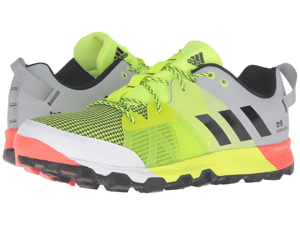 adidas Outdoor - Kanadia 8 TR (Solar Yellow/Black/Clear Onix) Men's Running Shoes