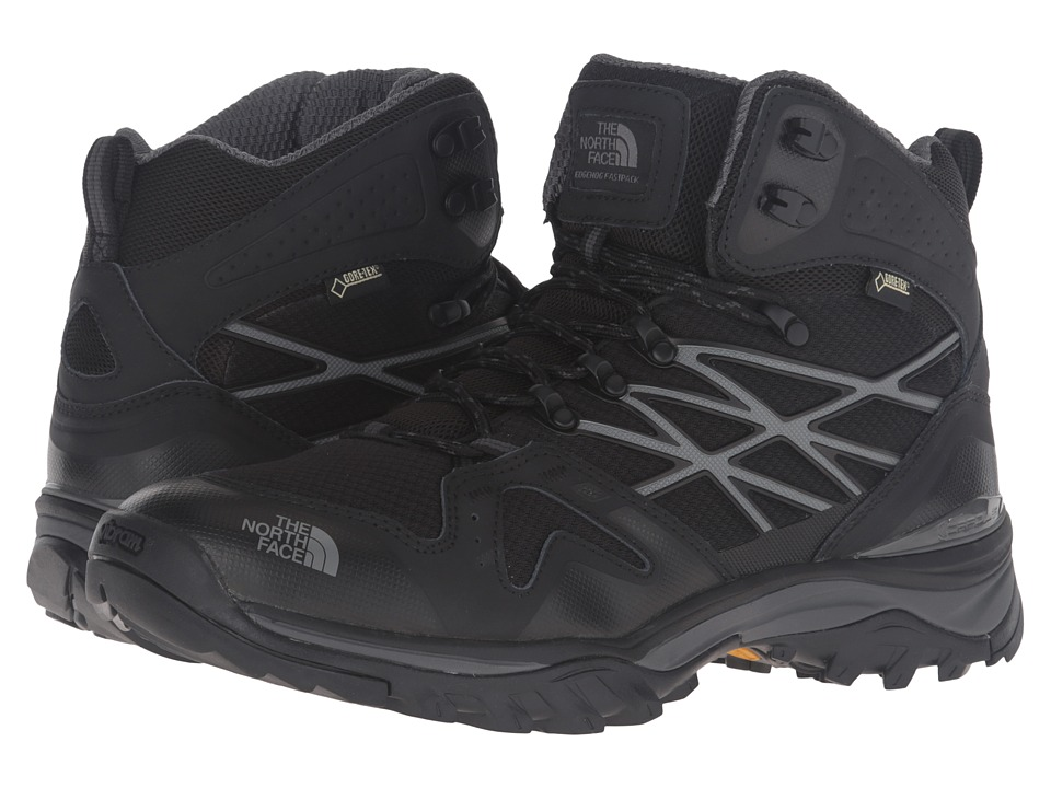 The North Face - Hedgehog Fastpack Mid GTX (TNF Black/Dark Shadow Grey) Men's Shoes