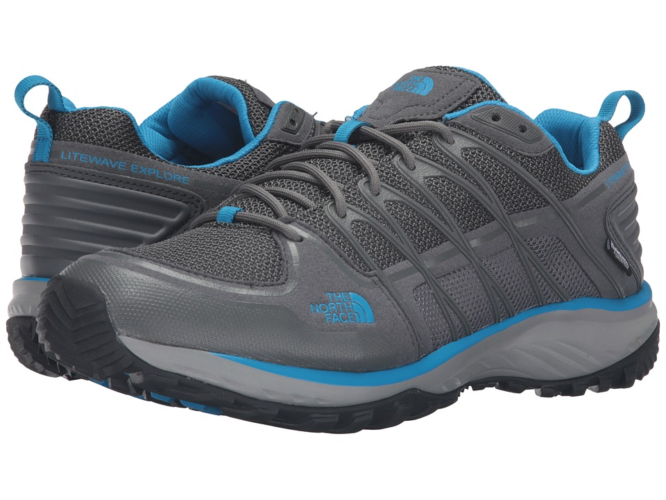 The North Face Litewave Explore WP (Zinc Grey/Blue Aster) Men