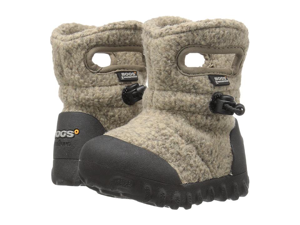 Bogs Kids - Baby B-Moc Fleece (Toddler) (Cocoa) Boys Shoes
