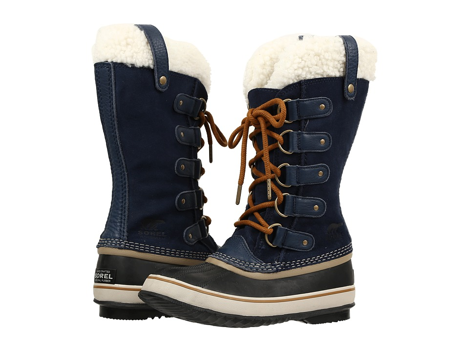 SOREL Joan Of Arctic Shearling (Collegiate Navy) Women