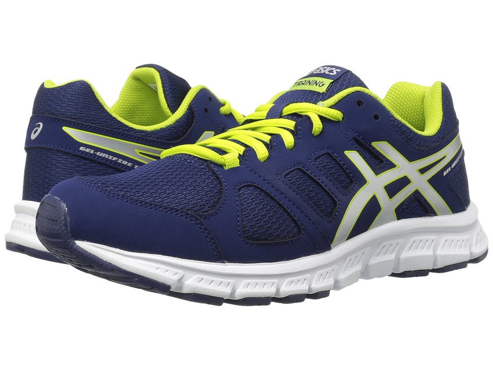 ASICS - Gel-Unifire TR 3 (Blueprint/Silver/Neon Lime) Men's Shoes