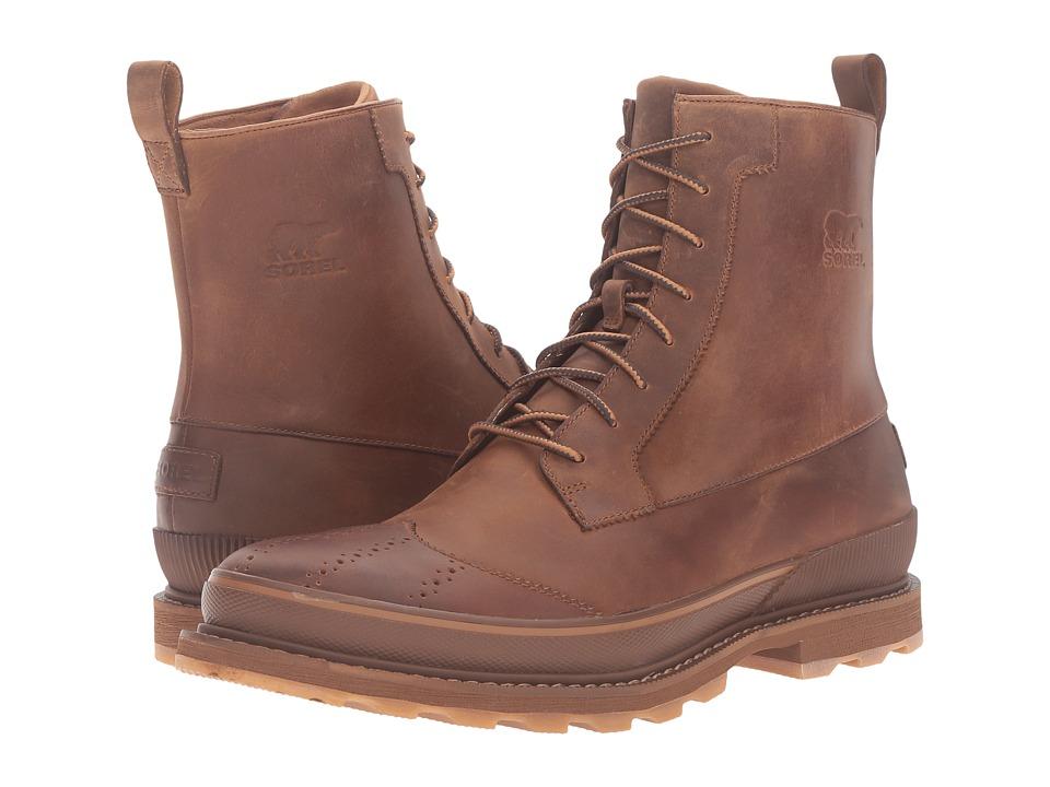 SOREL - Madson Wingtip Boot (Chipmunk) Men's Waterproof Boots