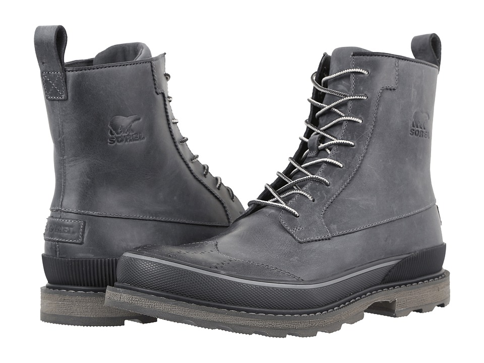 SOREL Madson Wingtip Boot (City Grey) Men