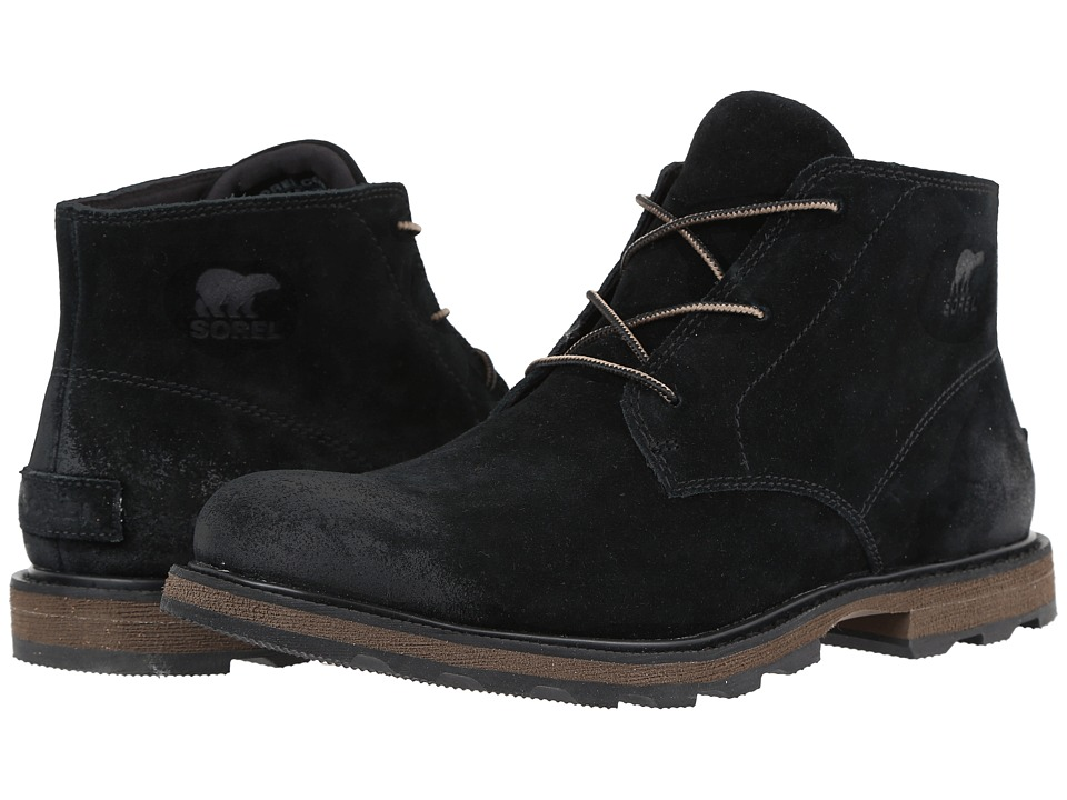 SOREL - Madson Chukka (Black) Men's Waterproof Boots