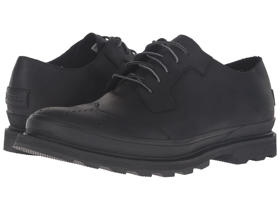 SOREL Madson Wingtip Lace (Black) Men