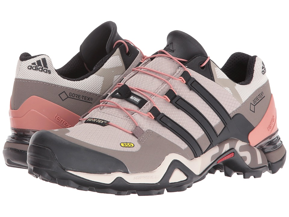 adidas Outdoor - Terrex Fast R GTX W (Vapour Grey/Black/Tech Earth) Women's Shoes