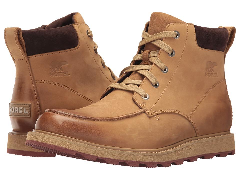 SOREL - Madson Moc Toe (Buff) Men's Waterproof Boots