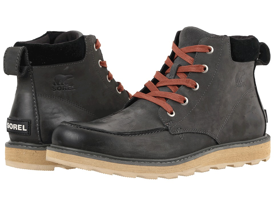 SOREL - Madson Moc Toe (Grill) Men's Waterproof Boots