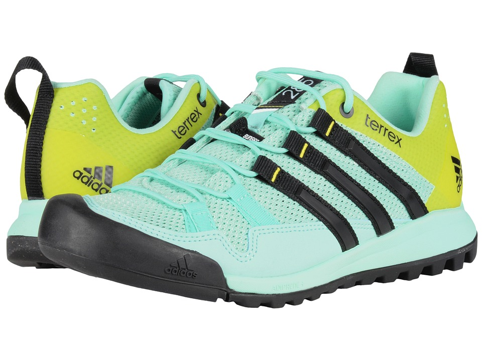 adidas Outdoor - Terrex Solo (Ice Green/Black/Vapour Steel) Women's Shoes