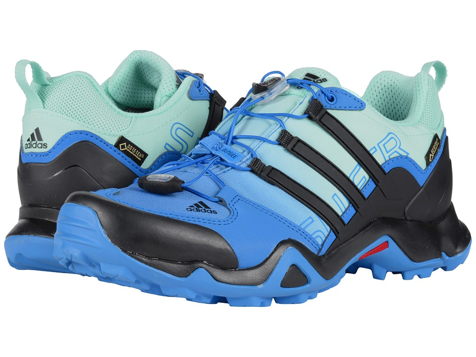 adidas Outdoor - Terrex Swift R GTX W (Ray Blue/Black/Ice Green) Women's Shoes