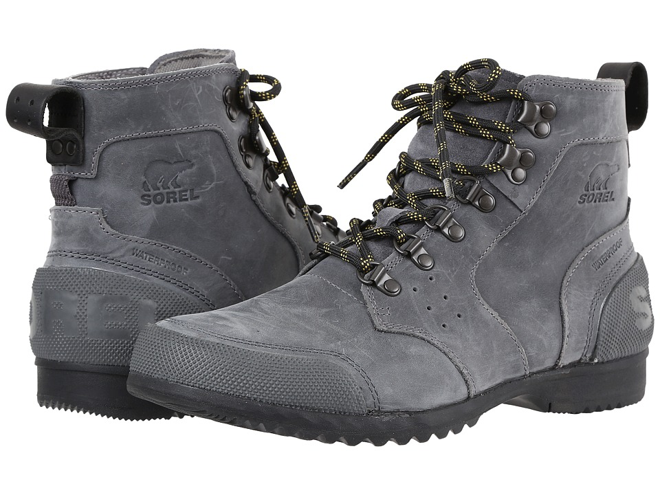 SOREL - Ankeny Mid Hiker (City Grey/Shark) Men's Boots