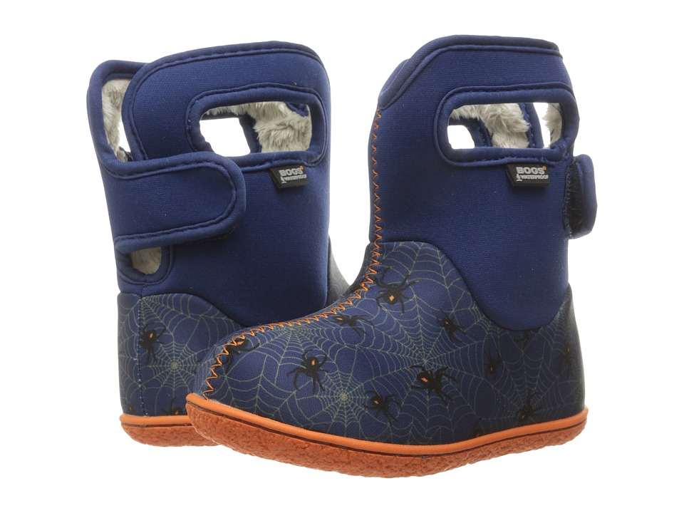 Bogs Kids - Classic Creepy Crawler (Toddler) (Blue Multi) Boys Shoes