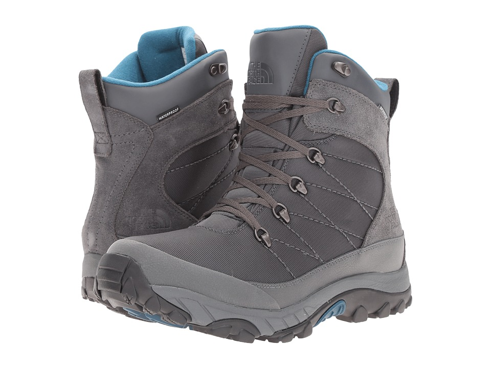 The North Face - Chilkat Nylon (Dark Shadow Grey/Prussian Blue) Men's Boots