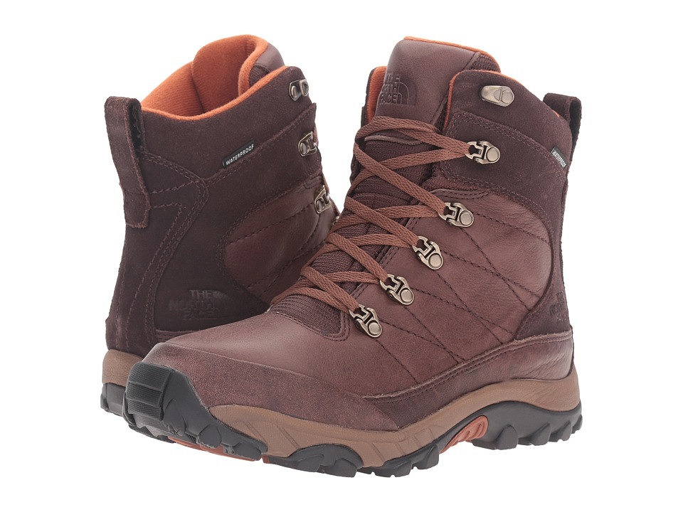 The North Face Chilkat Leather (Coffee Bean Brown/Gingerbread Brown (Prior Season)) Men