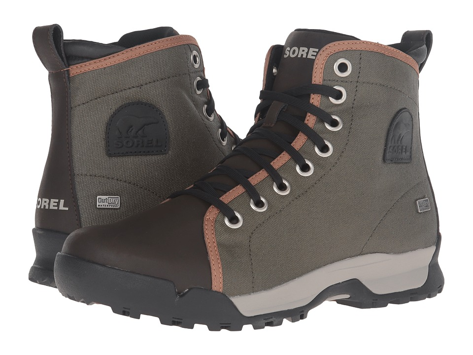SOREL - Paxson 64 Outdry (Nori/Elk) Men's Waterproof Boots