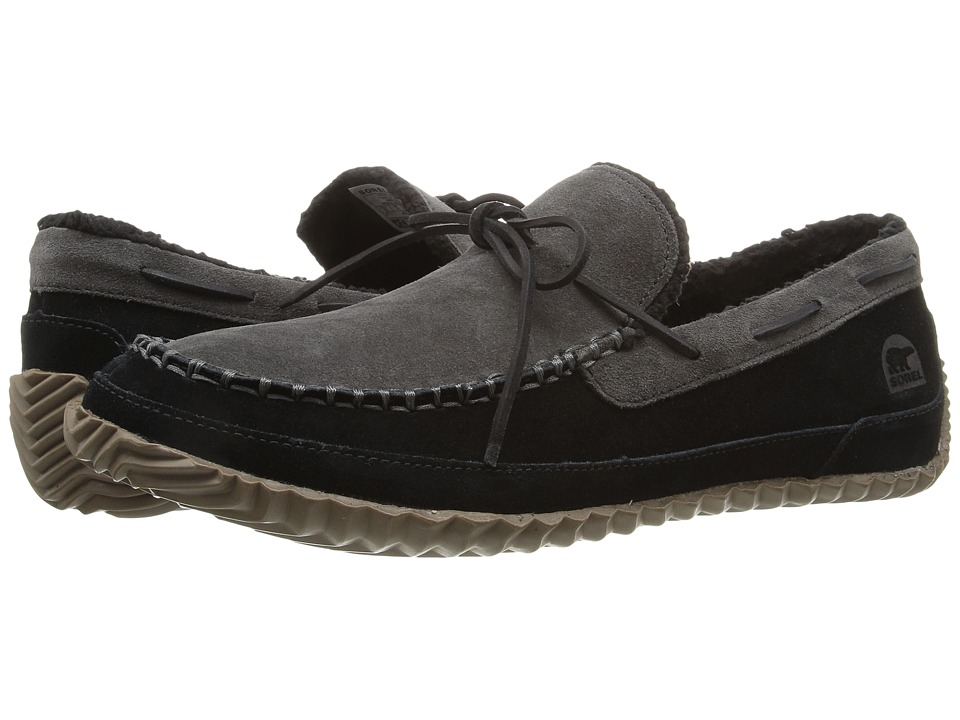SOREL - Maddox Moc (Black/Jet) Men's Slippers