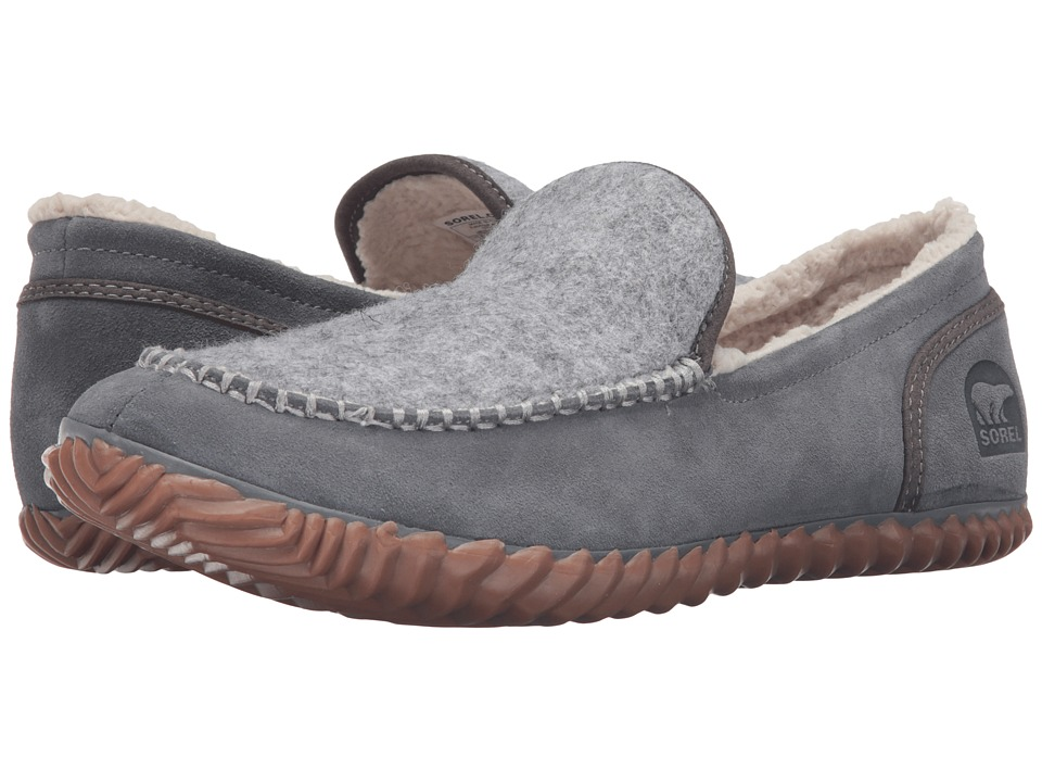 SOREL - Dude Moc Felt (City Grey) Men's Slippers