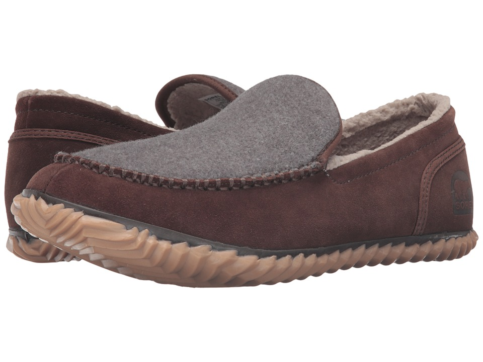 SOREL - Dude Moc Felt (Tobacco) Men's Slippers