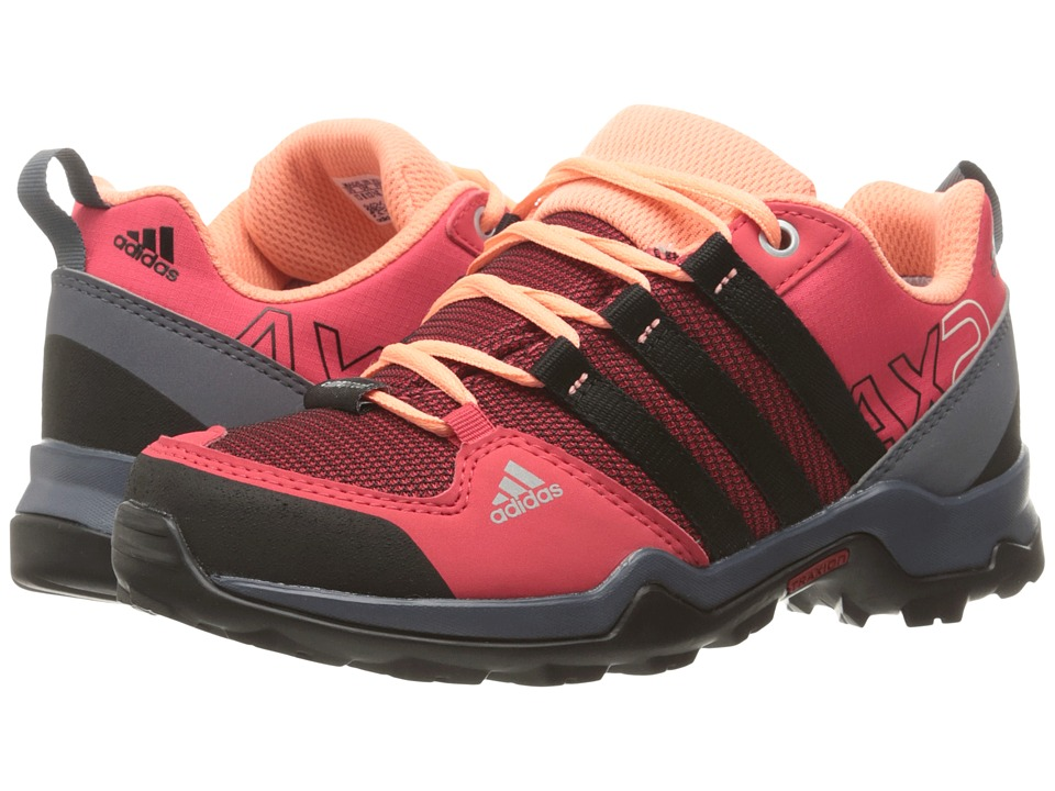 adidas Outdoor Kids AX2 CP (Little Kid/Big Kid) (Joy/Black/Sun Glow) Boys Shoes