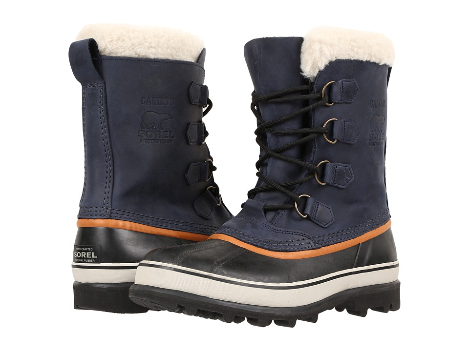 SOREL - Caribou Wool (Nocturnal) Men's Cold Weather Boots