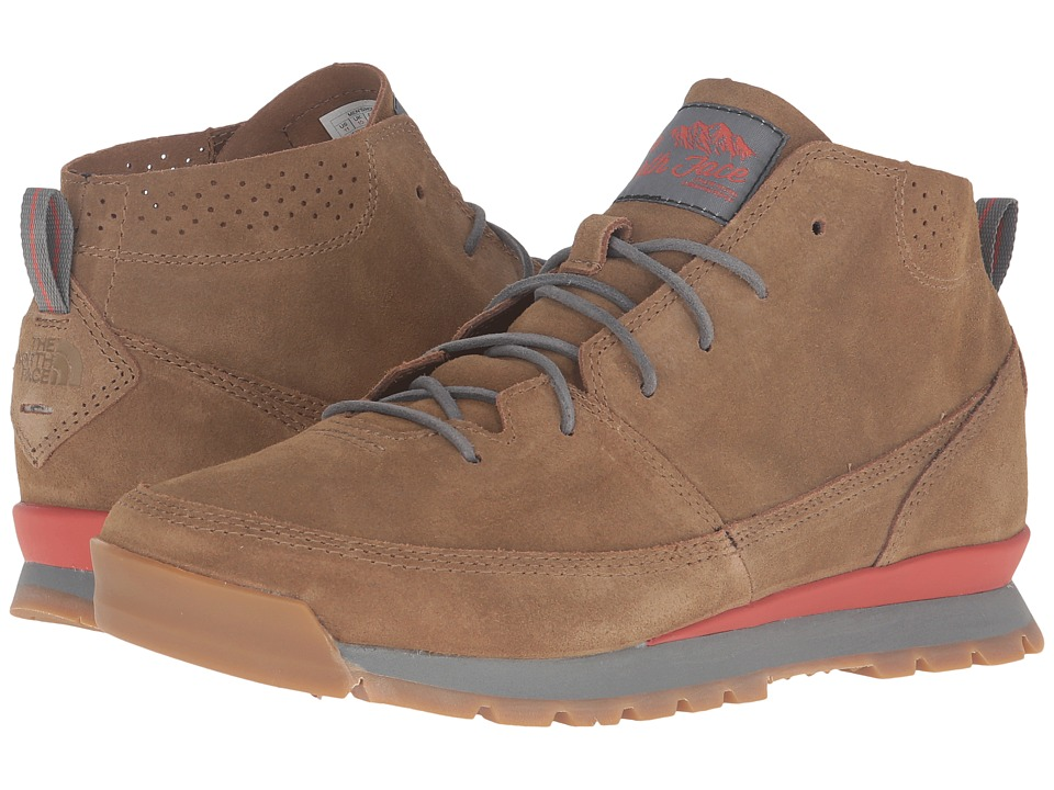 The North Face - Back-To-Berkeley Redux Chukka (Utility Brown/Sedona Sage Grey) Men's Shoes