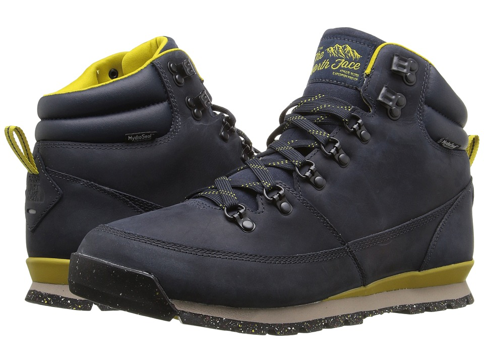 The North Face - Back-To-Berkeley Redux Leather (Urban Navy/Antique Moss Green (Prior Season)) Men's Hiking Boots