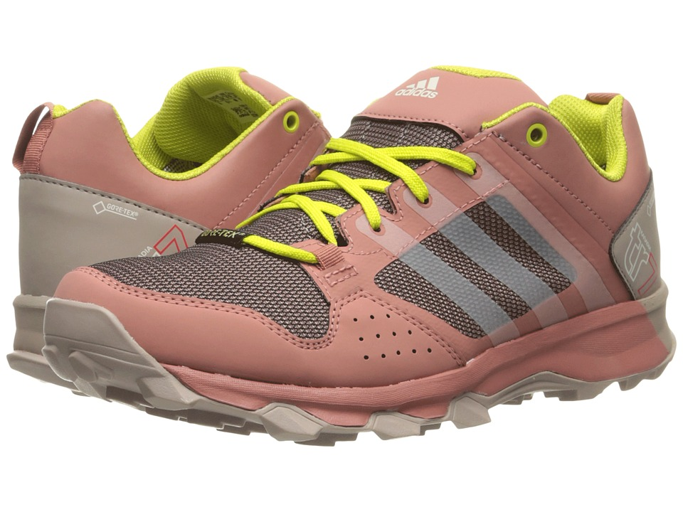 adidas Outdoor - Kanadia 7 Trail GTX (Vapour Pink/Shock Slime/Raw Pink) Women's Shoes